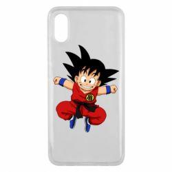 Чехол для Xiaomi Mi8 Pro Dragon ball Son Goku - FatLine