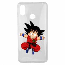 Чехол для Xiaomi Mi Max 3 Dragon ball Son Goku - FatLine