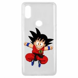 Чехол для Xiaomi Mi Mix 3 Dragon ball Son Goku - FatLine