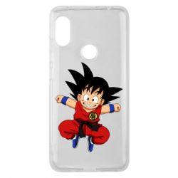 Чехол для Xiaomi Redmi Note 6 Pro Dragon ball Son Goku - FatLine