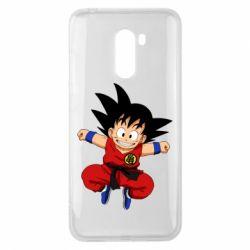 Чехол для Xiaomi Pocophone F1 Dragon ball Son Goku - FatLine