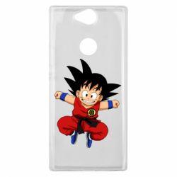 Чехол для Sony Xperia XA2 Plus Dragon ball Son Goku - FatLine