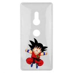 Чехол для Sony Xperia XZ2 Dragon ball Son Goku - FatLine