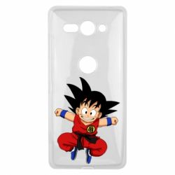 Чехол для Sony Xperia XZ2 Compact Dragon ball Son Goku - FatLine