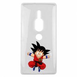 Чехол для Sony Xperia XZ2 Premium Dragon ball Son Goku - FatLine