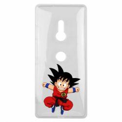 Чехол для Sony Xperia XZ3 Dragon ball Son Goku - FatLine