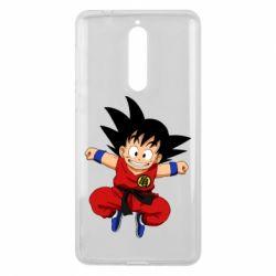 Чехол для Nokia 8 Dragon ball Son Goku - FatLine