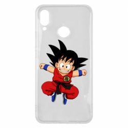Чехол для Huawei P Smart Plus Dragon ball Son Goku - FatLine