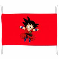 Прапор Dragon ball Son Goku