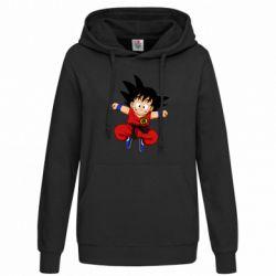 Толстовка жіноча Dragon ball Son Goku
