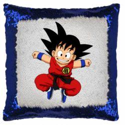 Подушка-хамелеон Dragon ball Son Goku