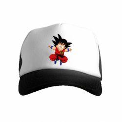 Дитяча кепка-тракер Dragon ball Son Goku