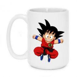 Кружка 420ml Dragon ball Son Goku