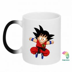 Кружка-хамелеон Dragon ball Son Goku