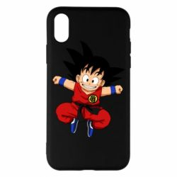 Чохол для iPhone X/Xs Dragon ball Son Goku