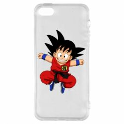 Чохол для iphone 5/5S/SE Dragon ball Son Goku