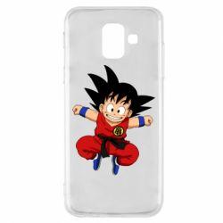 Чохол для Samsung A6 2018 Dragon ball Son Goku
