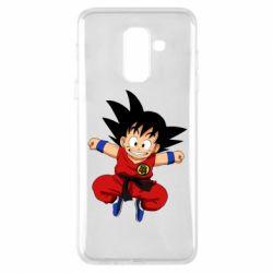 Чохол для Samsung A6+ 2018 Dragon ball Son Goku