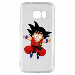 Чохол для Samsung S7 Dragon ball Son Goku