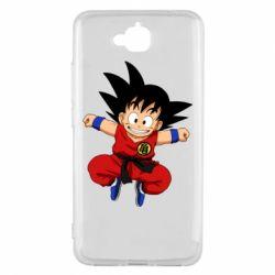 Чехол для Huawei Y6 Pro Dragon ball Son Goku - FatLine
