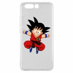 Чехол для Huawei P10 Dragon ball Son Goku - FatLine