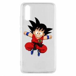Чехол для Huawei P20 Dragon ball Son Goku - FatLine