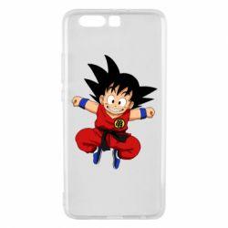 Чехол для Huawei P10 Plus Dragon ball Son Goku - FatLine