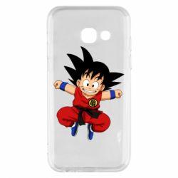 Чохол для Samsung A3 2017 Dragon ball Son Goku
