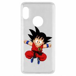 Чехол для Xiaomi Redmi Note 5 Dragon ball Son Goku - FatLine