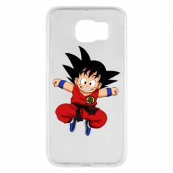 Чохол для Samsung S6 Dragon ball Son Goku