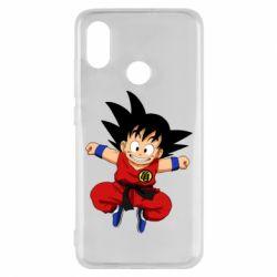 Чехол для Xiaomi Mi8 Dragon ball Son Goku - FatLine