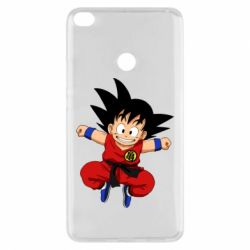 Чехол для Xiaomi Mi Max 2 Dragon ball Son Goku - FatLine