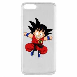 Чехол для Xiaomi Mi Note 3 Dragon ball Son Goku - FatLine