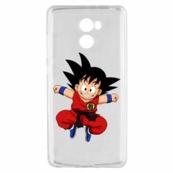 Чехол для Xiaomi Redmi 4 Dragon ball Son Goku - FatLine