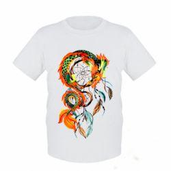 Детская футболка Dragon catcher dreams