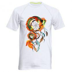 Мужская спортивная футболка Dragon catcher dreams