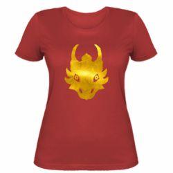 Жіноча футболка Dragon face