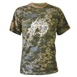 Камуфляжная футболка Dragon