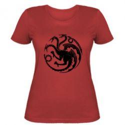 Женская футболка Dragons 3