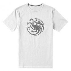 Мужская стрейчевая футболка Dragons 3