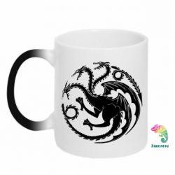 Кружка-хамелеон Dragons 3