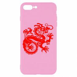 Чехол для iPhone 8 Plus Дракон