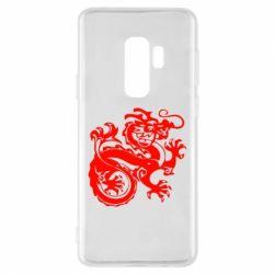Чехол для Samsung S9+ Дракон