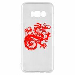 Чехол для Samsung S8 Дракон