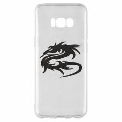 Чохол для Samsung S8+ Дракон