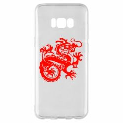 Чехол для Samsung S8+ Дракон