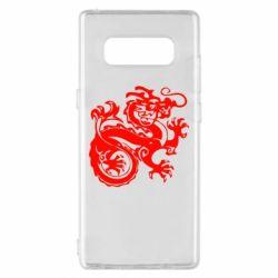 Чехол для Samsung Note 8 Дракон