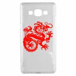 Чехол для Samsung A5 2015 Дракон