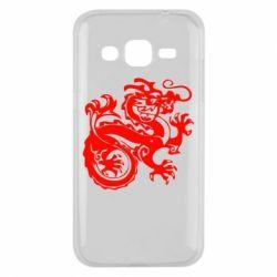 Чехол для Samsung J2 2015 Дракон