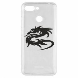 Чехол для Xiaomi Redmi 6 Дракон